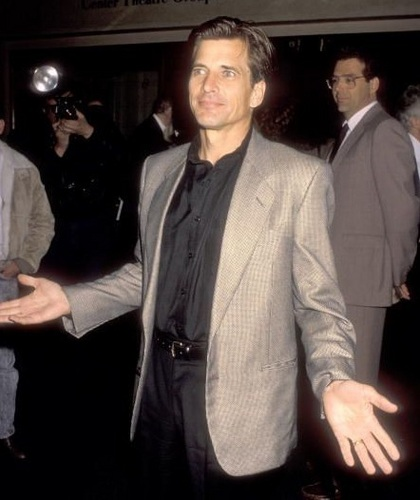 dolch, dirk Benedict - candid shots