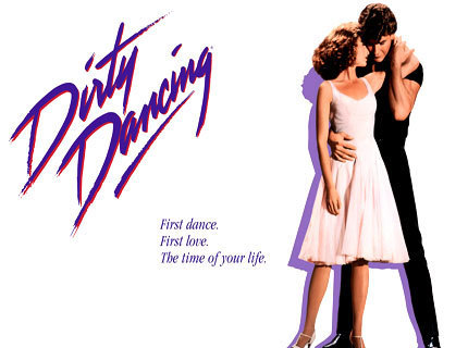 The 80s wallpaper titled Dirty Dancing