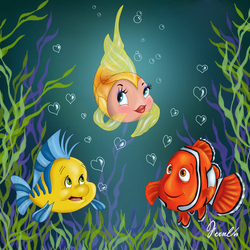 Disney poisson Friends
