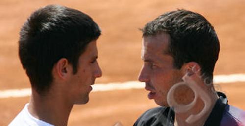 Djokovic and Stepanek