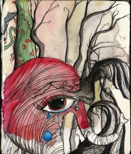 Drawing door Amy