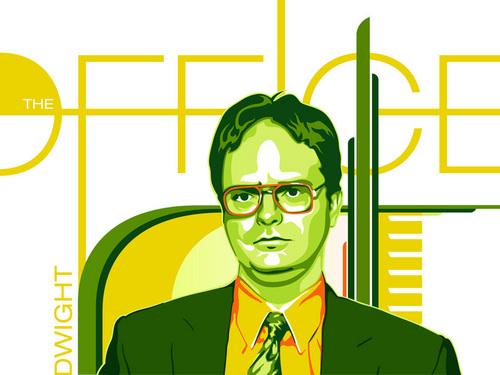 Dwight Schrute fan art