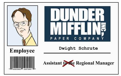 Dwight Schrute 粉丝 art