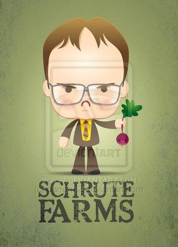 Dwight Schrute tagahanga art