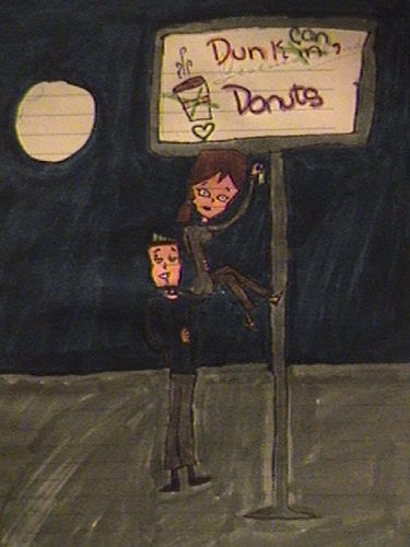 DxC fan art of the image Dunkin Donuts