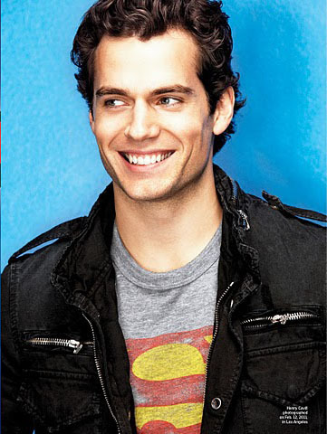EW Superman issue - henry-cavill Photo