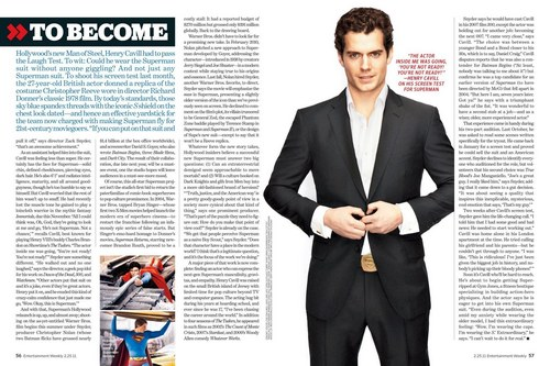EW Superman issue