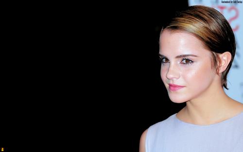 Emma Watson Aka Hermione দেওয়ালপত্র