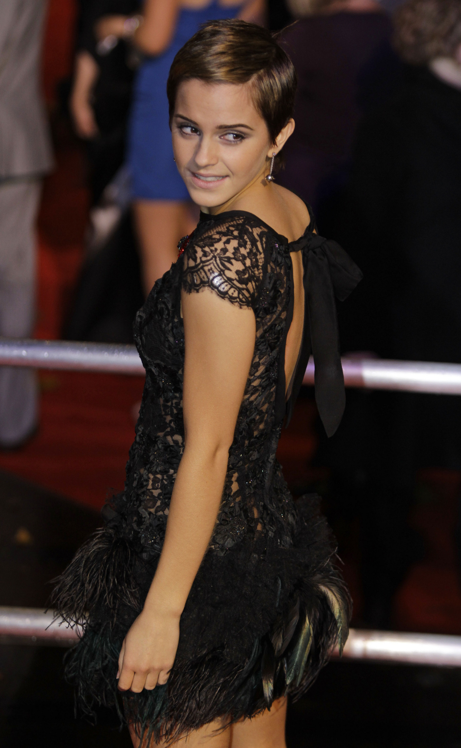 Emma Watson Harry Potter 7 premier Pt5