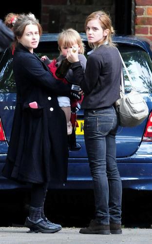 Emma Watson and Helena Bonham Carter