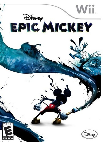 Epic Mickey Game Cover