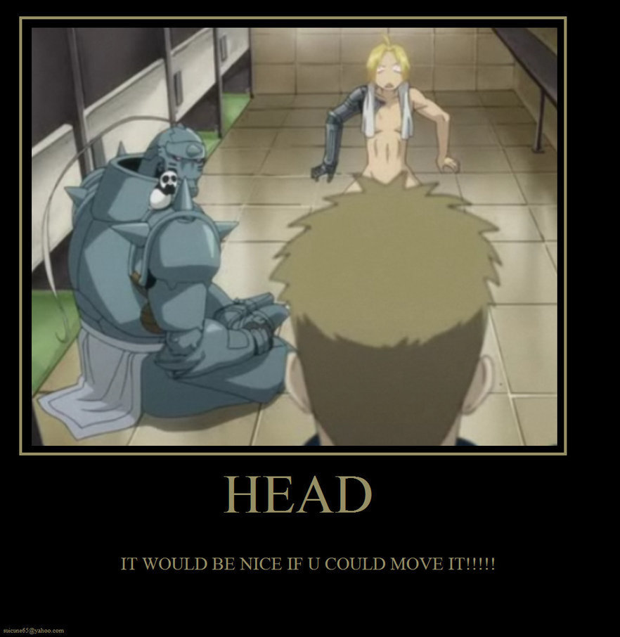 Anime fma motivational posters