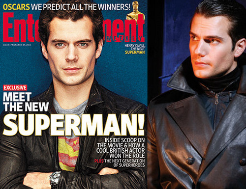 First shot of Henry Cavill as Superman?!?