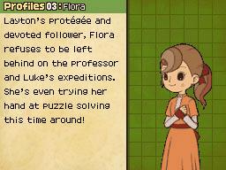 Flora's profaili