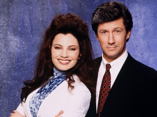 Fran & Maxwell   from The nanny