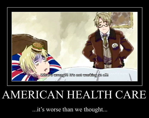 Hetalia wallpaper containing anime titled Funny America and England pic