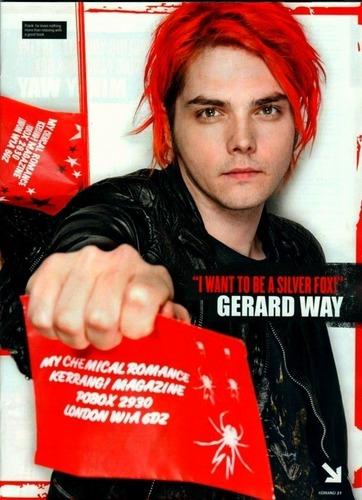 Gerard way kerrang!
