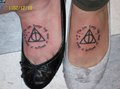 Harry Potter mga tattoo