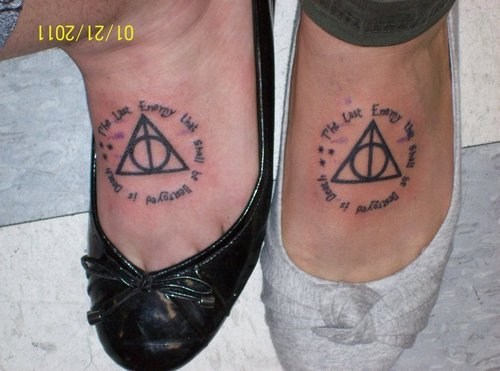 Harry Potter tatuagens