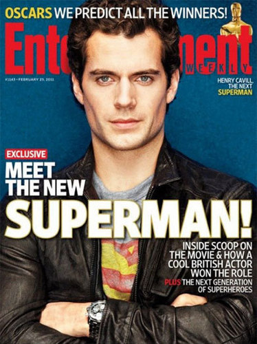 Henry Cavill Entertainment Weekly Cover