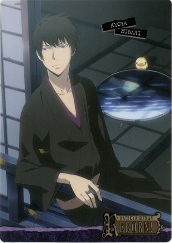 Hibari Kyoya wallpaper possibly containing a sign entitled Hibari Kyoya<3