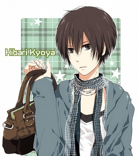 Hibari Kyoya<3