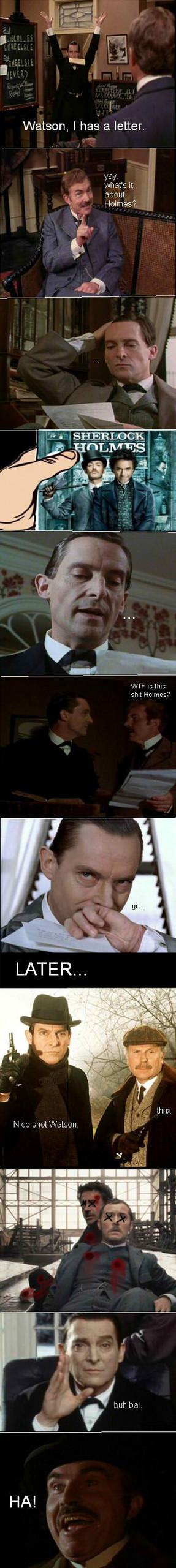 Holmes comic