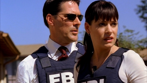 Hotch & Emily 壁纸 with a bulletproof vest titled Hotch & Emily♥