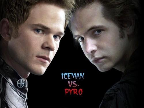Iceman vs Pyro