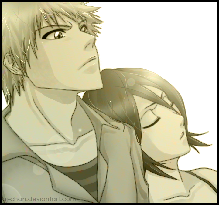 IchiRuki - Bleach ichigo and rukia Fan Art (19448164) - Fanpop