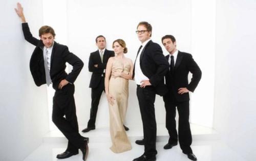 John, Steve, Jenna, Rainn and B.J.