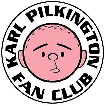 Karl Pilkington Fan Club Button Image