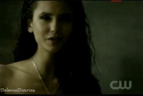 Katherine in damon's shower
