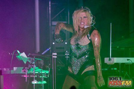 Ke$ha-Get $leazy Tour konsiyerto mga litrato