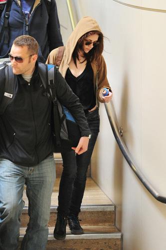 Kristen Stewart in LAX