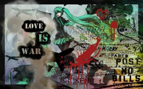 cinta IS WAR: free wallpaper