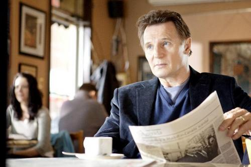 Liam Neeson wallpaper with a newspaper entitled Liam Neeson Chloe