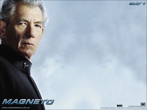 X-men THE MOVIE wallpaper possibly containing a portrait entitled Magneto