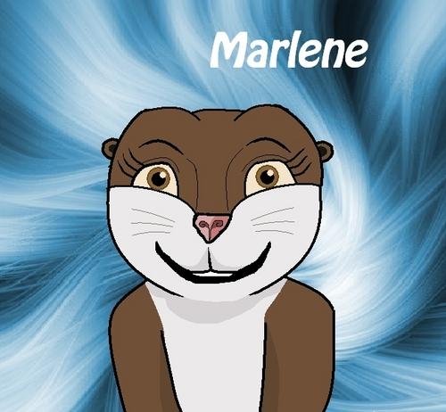 Marlene the loutre fond d'écran with animé entitled Marlene!!! :3