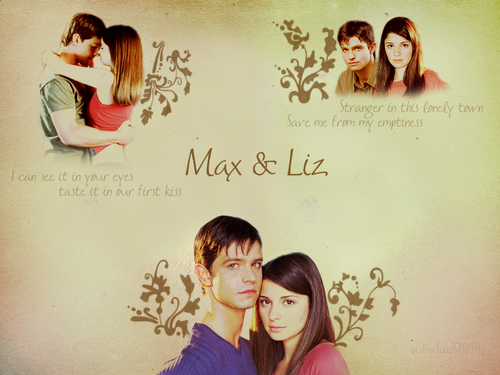 Max and Liz wallpaper containing a portrait titled Max/Liz ღ