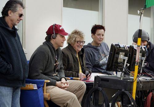 Michael Directing NCIS BTS
