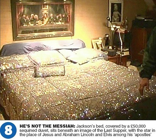 Michael's Bedroom at Neverland