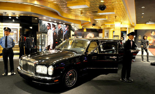 Michael's Rolls Royce