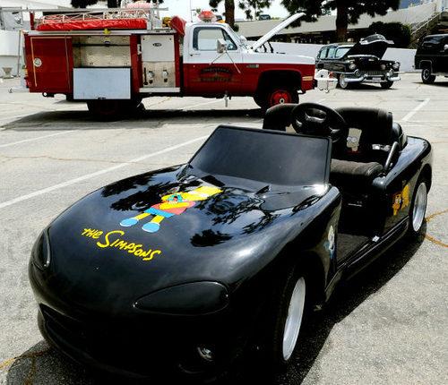 Michael's car at Neverland