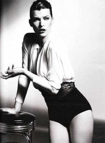 Milla in Vogue Germany - February 2011