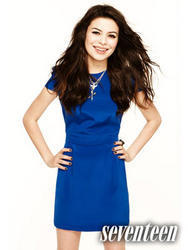 Miranda Cosgrove Seventeen Magazine