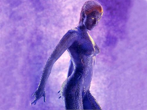 X-men THE MOVIE wallpaper entitled Mystique