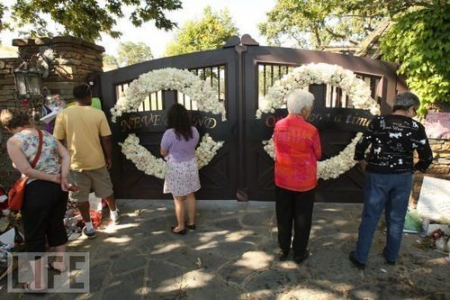 Neverland Gates on June 30, 2009