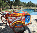 Neverland Pool and Popcorn cart