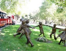 Neverland Statue Children